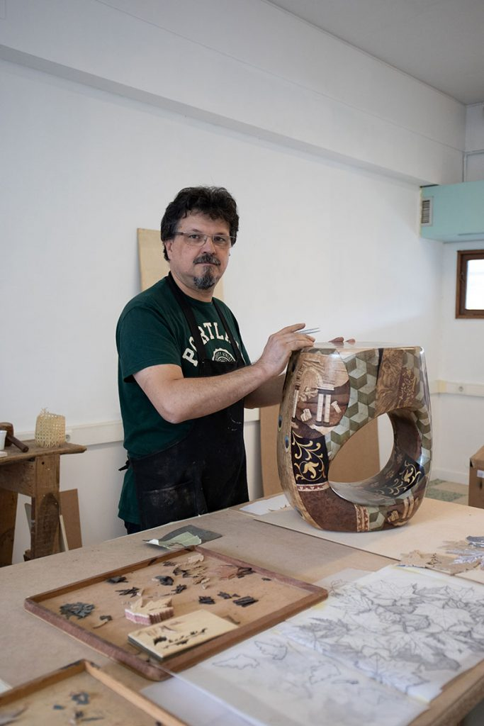 Craftsmanship Covet Foundation in European Artistic Craft Days 2019 - Marquetry isaloni 2019 iSaloni 2019 is Finally Here! Come visit Project CULTURE's Craftsmen Craftsmanship Covet Foundation in European Artistic Craft Days 2019 Marquetry
