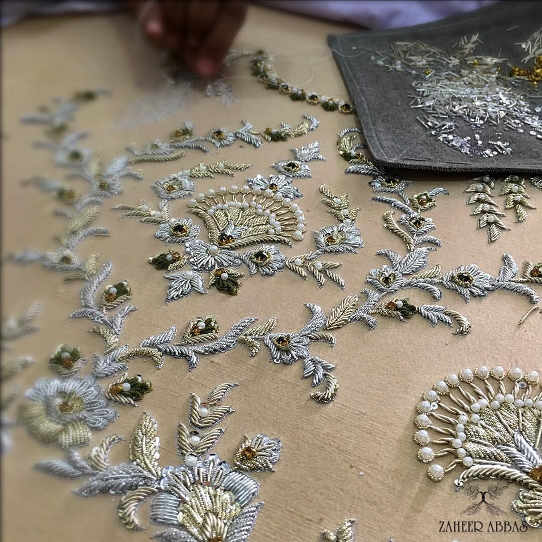 Embroidery The Mysteries of Luxury Fashion Essential Art - Zaheer Abbas embroidery Embroidery: The Mysteries of Luxury Fashion Essential Art Embroidery The Mysteries of Luxury Fashion Essential Art Zaheer Abbas
