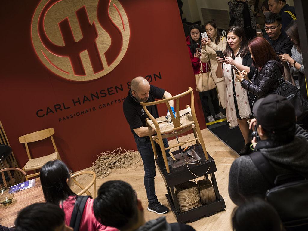 Highlights from Design Shanghai 2019 - Carl Hansen ©WangWei design shanghai 2019 Design Shanghai 2019: Highlights You Can't Miss Highlights from Design Shanghai 2019 Carl Hansen   WangWei