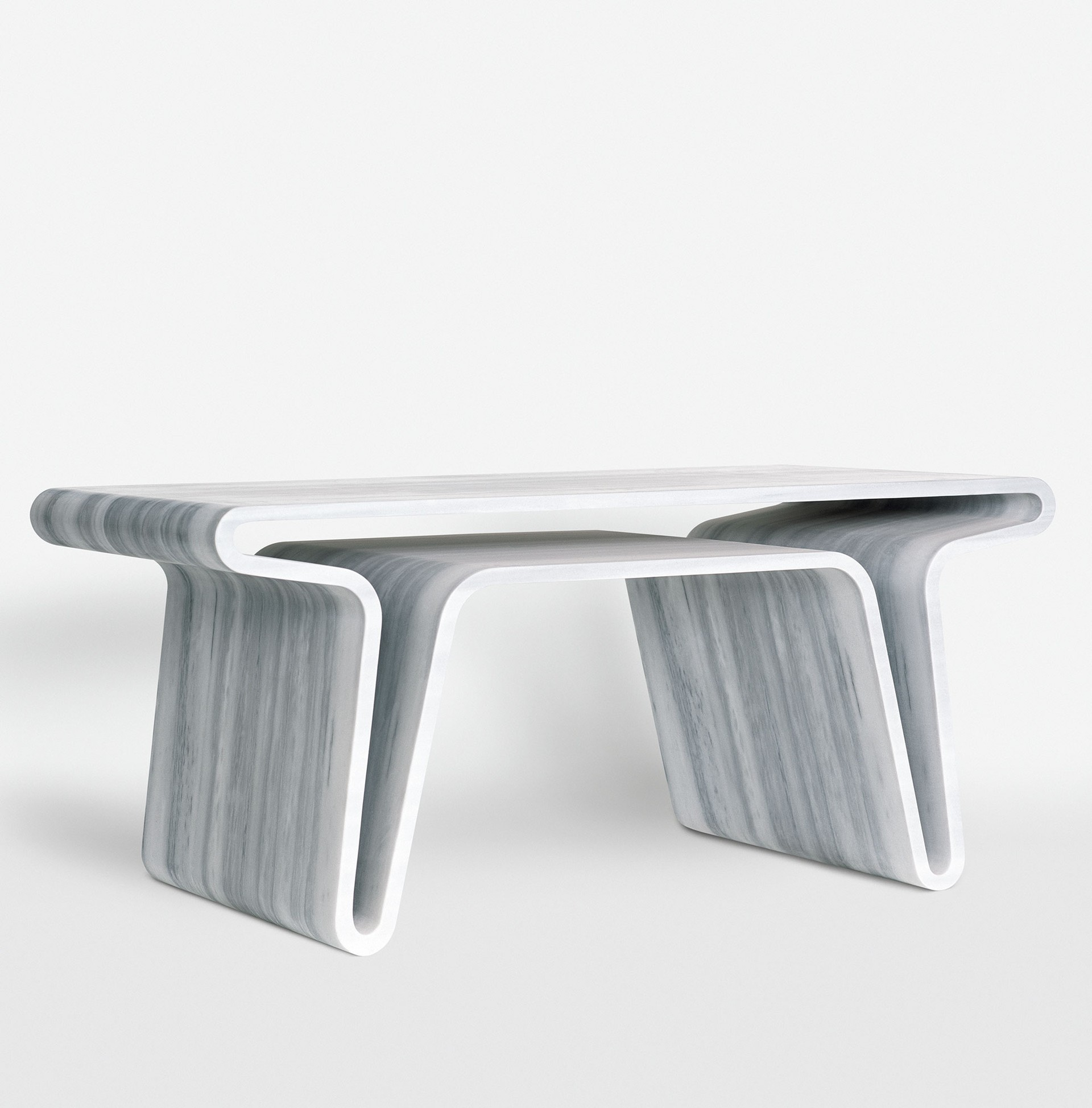 Marc Newson - One of the Best Contemporary Designers in the World - Extruded Table 3 marc newson Marc Newson: One of the Best Contemporary Designers in the World Marc Newson One of the Best Contemporary Designers in the World Extruded Table 3