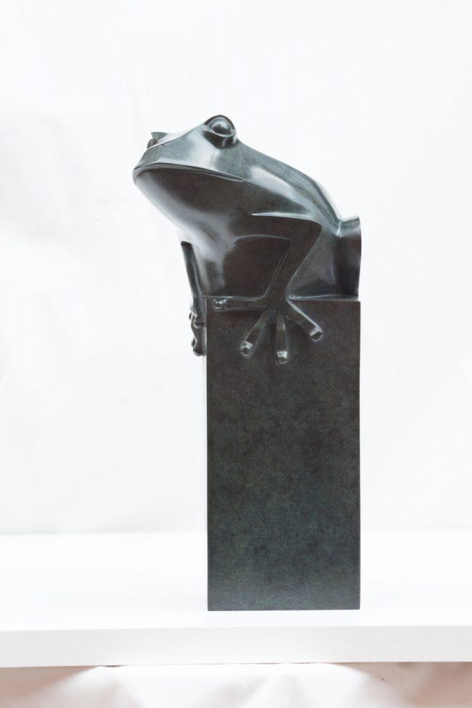 PAD Monaco 2019 Galerie Dumonteil's Incredible Sculptures - Frog - Daniel Daviau pad PAD Monaco 2019: Galerie Dumonteil's Incredible Sculptures PAD Monaco 2019 Galerie Dumonteils Incredible Sculptures Frog Daniel Daviau