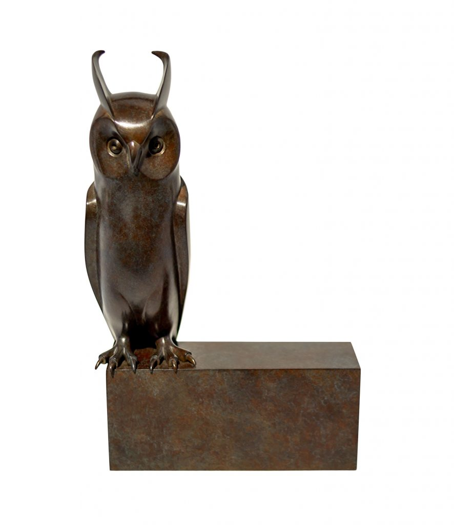 PAD Monaco 2019 Galerie Dumonteil's Incredible Sculptures - Small Long-eared Owl - Daniel Daviau pad PAD Monaco 2019: Galerie Dumonteil's Incredible Sculptures PAD Monaco 2019 Galerie Dumonteils Incredible Sculptures Small Long eared Owl Daniel Daviau