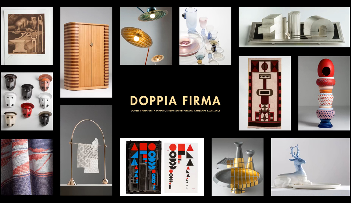 iSaloni 2019 Masterpieces of Design and Crafts in Doppia Firma - milan design week Milan Design Week 2019: Masterpieces of Design and Crafts Doppia Firma iSaloni 2019 Masterpieces of Design and Crafts in Doppia Firma