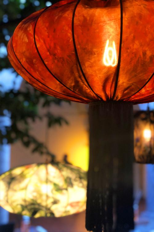 Clerkenwell Design Week 2019 Curiousa and Curiousa's Silk Lanterns - Red clerkenwell design week Clerkenwell Design Week 2019: Curiousa and Curiousa's Silk Lanterns Clerkenwell Design Week 2019 Curiousa and Curiousas Silk Lanterns Red