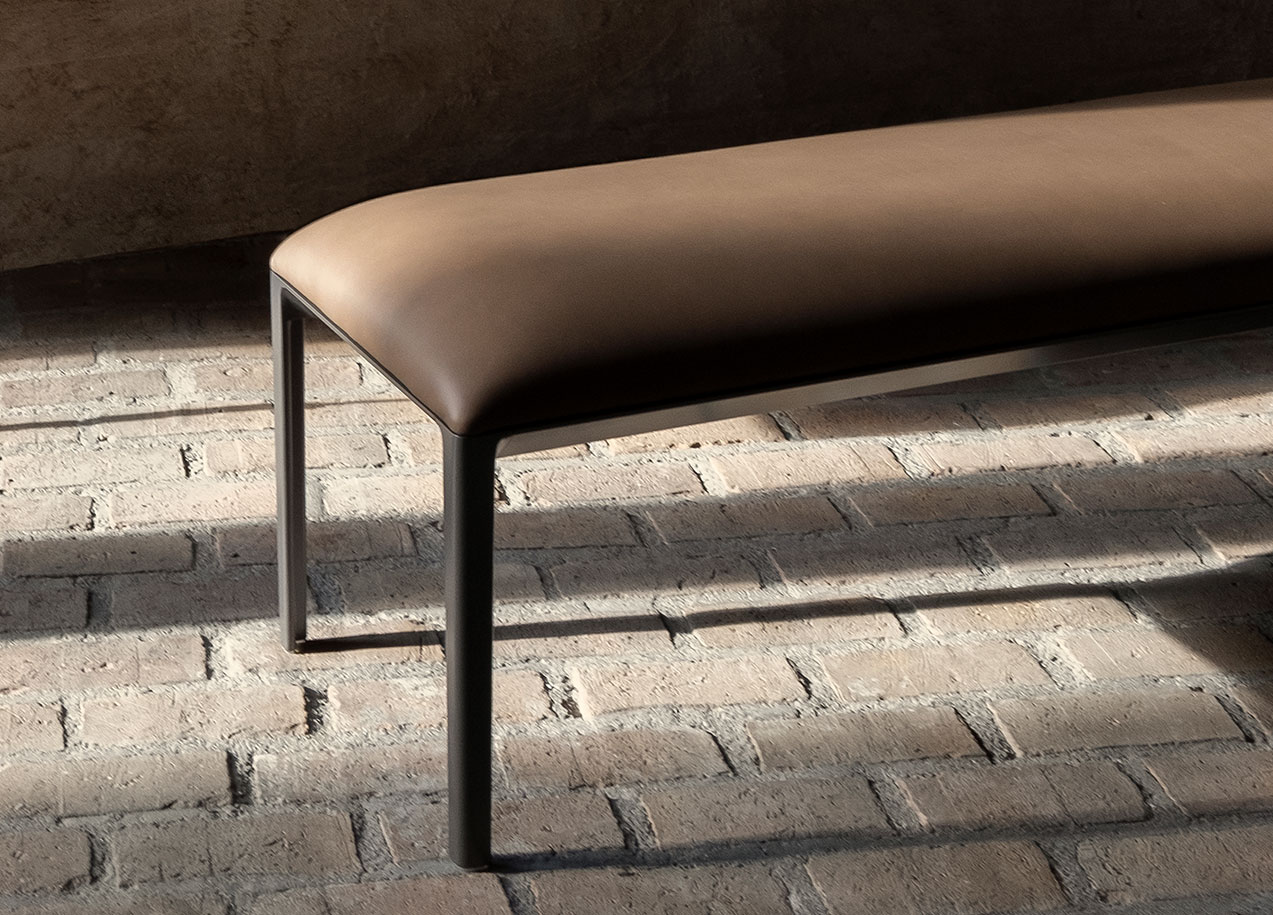 ICFF 2019 Bensen's Minimalist Contemporary Furniture Designs - Able Bench - Detail icff ICFF 2019: Bensen's Minimalist Contemporary Furniture Designs ICFF 2019 Bensens Minimalist Contemporary Furniture Designs Able Bench Detail