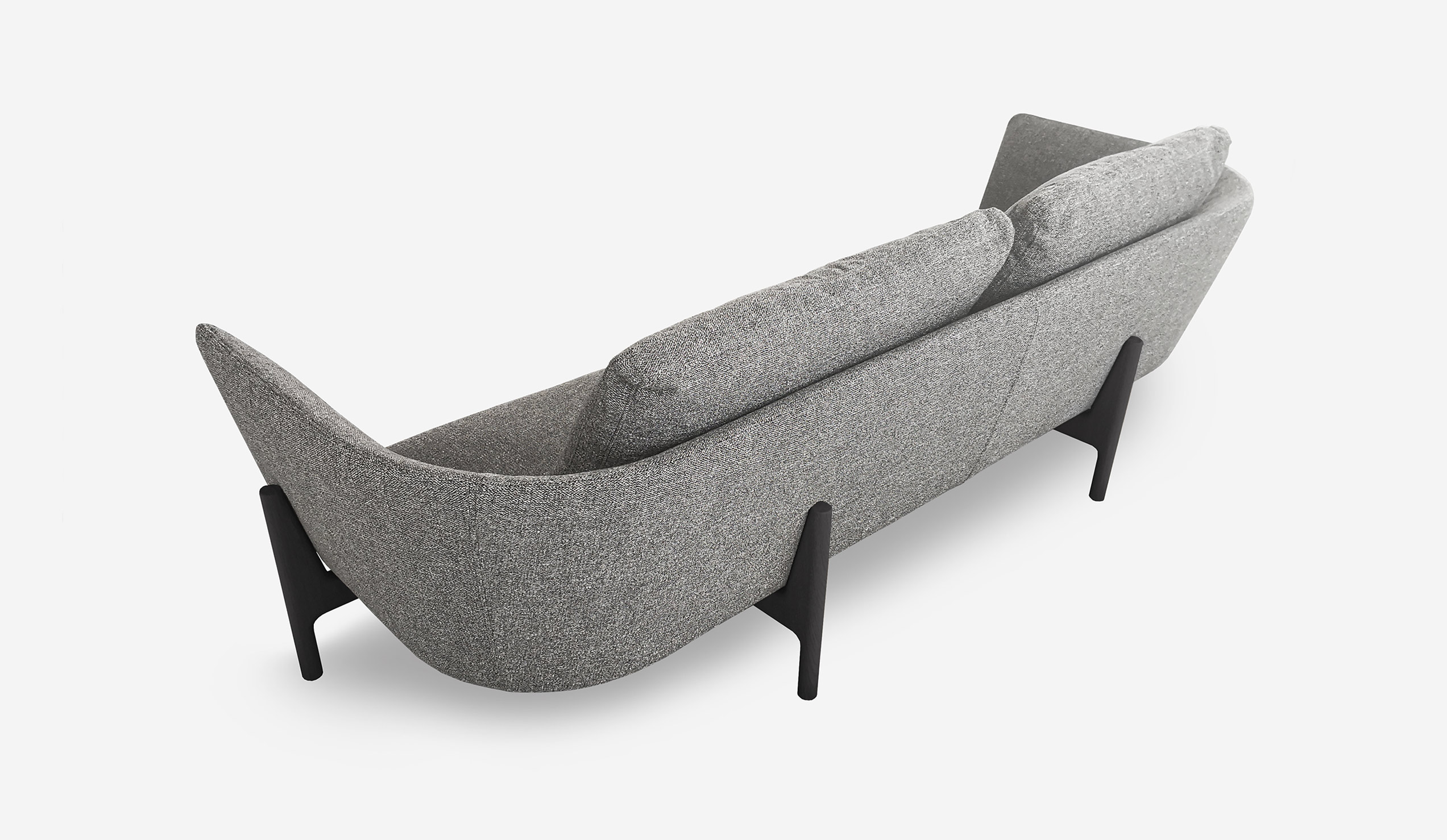 ICFF 2019 Bensen's Minimalist Contemporary Furniture Designs - Loft Sofa - icff ICFF 2019: Bensen's Minimalist Contemporary Furniture Designs ICFF 2019 Bensens Minimalist Contemporary Furniture Designs Loft Sofa