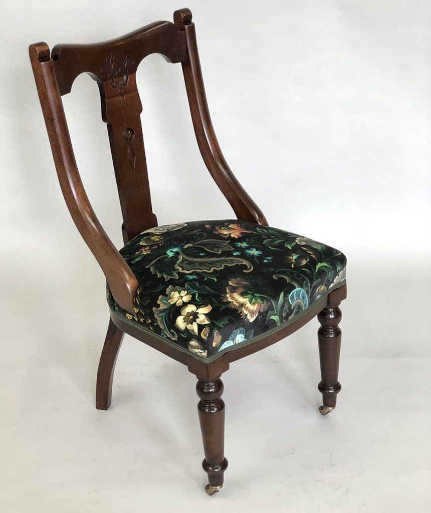 London Craft Week 2019 Upholstery Secrets by Shoreditch Design Rooms - Floral Chair london craft week London Craft Week 2019: Upholstery Secrets by Shoreditch Design Rooms London Craft Week 2019 Upholstery Secrets by Shoreditch Design Rooms Floral Chair