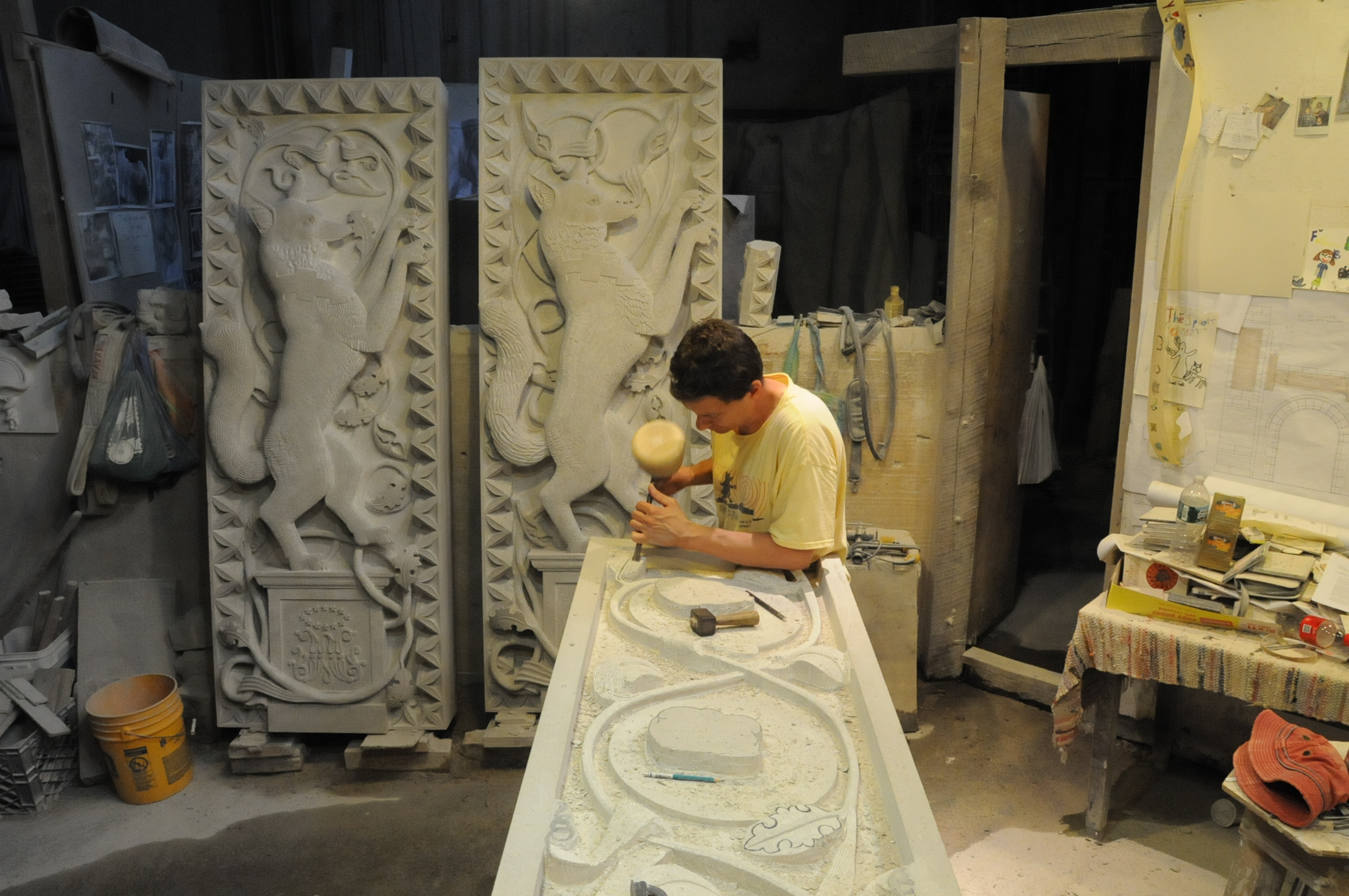 NYCxDesign 2019 The Precious Craft in Focus Festival - Stone Sculpting nycxdesign NYCxDesign 2019: The Precious Craft in Focus Festival NYCxDesign 2019 The Precious Craft in Focus Festival Stone Sculpting