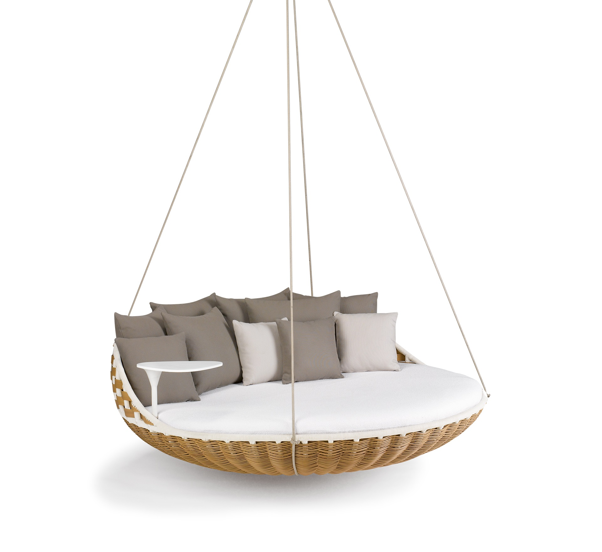 Outdoor Furniture Design Craftsmanship Treasures to Color Your Summer - Dedon - Swingrest - Hanging Lounger outdoor furniture Outdoor Furniture Design: Craftsmanship Treasures to Color Your Summer Outdoor Furniture Design Craftsmanship Treasures to Color Your Summer Dedon Swingrest Hanging Lounger