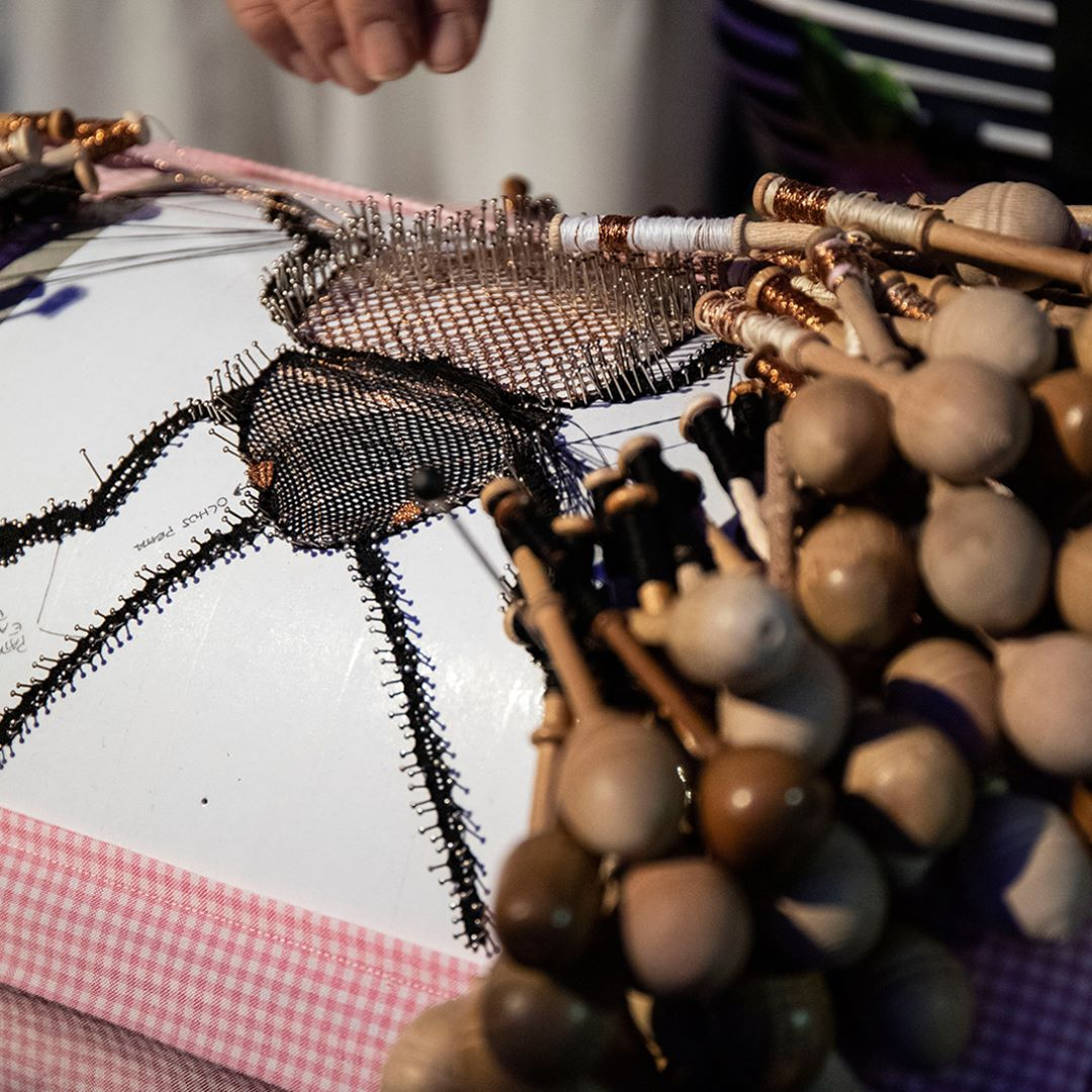 luxury design and craftsmanship summit Luxury Design & Craftsmanship Summit: Highlights Bobbin Lace from Vila do Conde by the master artisan Ester Barros and the designer Isabel Carneiro